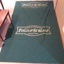 Field And Stream Banner Flag Mancave Garage Sign