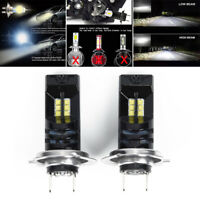 2pc 110W 30000LM H7 LED Car Headlight Conversion Globes Canbus Bulbs 6000K White