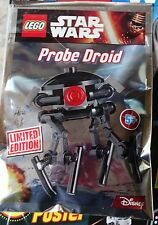 LEGO STAR WARS: PROBE DROID, NEW 10/16, in Polybag, LIMITED