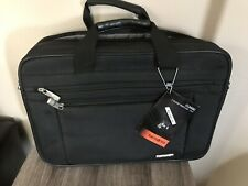 "Samsonite Classic Briefcase 15.6"" Black Laptop 2 Gusset Brand New NWT"