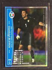 2002-03 Panini WCCF Italy World Cup Team Gianluigi Buffon Refractor card