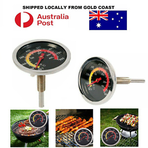 Barbecue Thermometer Oven Pit Temp Gauge 10~400℃ BBQ Smoker Grill Temperature