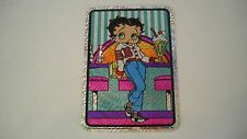 Betty Boop with Ice Cream Sticker qa1
