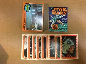 1977 Star Wars Series 5 Complete Card/Sticker Sets & Wrapper (66/11) Exc-Mt+