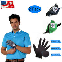 Mens Left Handed Golf Gloves Footjoy 2 Pack No-Slip Breathable FJ Taylormade