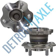 Both (2) Brand New Complete Rear Wheel Hub and Bearing for Toyota RAV4 - 4WD