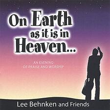 CD (2 disc set) <> Lee Behnken and Friends  *  On Earth as It Is in Heaven