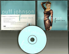 PUFF JOHNSON Forever More w/ RARE SINGLE VERSION PROMO Radio DJ CD single 1996