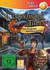CLOCKWORK TALES * DIE GESCHICHTE VON GLASS UND INK *WIMMELBILD-SPIEL   PC CD-ROM