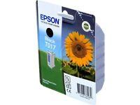 EPSON  black + color Tinte cartridge T017+ T018  Stylus Color 680  685