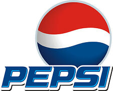 "Pepsi Cola Vinyl Sticker Decal 18"" (full color)"