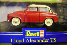LLOYD ALEXANDER RED WITH WHITE ROOF REVELL 1/18 1:18