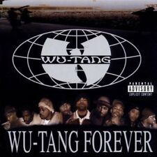 WU TANG CLAN WU TANG FOREVER 2 DISC CD RAP & HIP HOP 2000 NEW