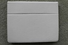 IPAD TABLET OFF WHITE LEATHER COVER - SIZE:  9.7in