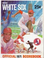 1971 (May 31) Baseball program Baltimore Orioles @ Chicago White Sox, unscored