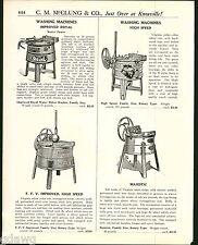1921 ADVERT Wood Wooden Royal FFV Majestic Washing Machine The Wayne Electric