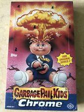 2014 GARBAGE PAIL KIDS Topps CHROME Series 2 Hobby BOX Sealed Unopened NEW GPK