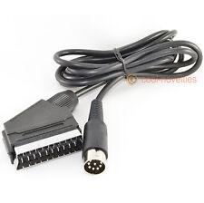 COMMODORE C64 / C128 S-VIDEO & AUDIO TV SCART CABLE / LEAD