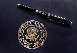 "Cross Barack Obama Townsend ""Inaugural 1st Term"" Sample Pen NIB"