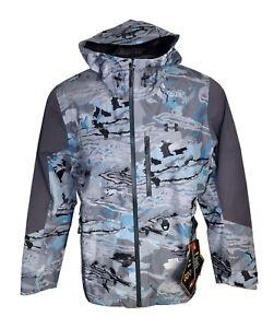 Under Armour Ridge Reaper Storm Gore-Tex Shoreman Hydro Camo Jacket Mens Size M