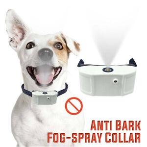 Anti Bark Train Citronella Dog Collar Mist Spray USB Rechargeable Stop Barking