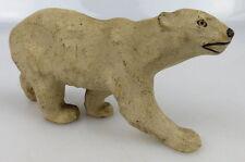 altes Elastolin Tier: Eisbär (linol146)