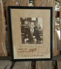 New listing Schlitz Beer 1939 Presentation Poster Broadway 5050 San Antonio Texas Montanio