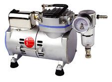 JAVAC Lab Vacuum Pump, Oil Free, 17 Litres/Min (With 1m Silicone Vacuum Tubing)