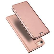 Handyhülle Apple iPhone 5 S SE Handy Schutz Hülle Flip Tasche Case + GLASFOLIE