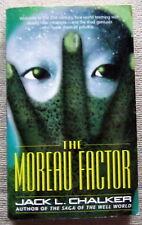 The Moreau Factor by Jack L. Chalker PB Del Rey - the evolution of terror