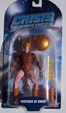 DC CRISIS ON INFINITE EARTHS. WEAPONER OF QWARD ACTION FIGURE. Series 3. NOC.