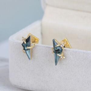 Alexis Bittar Crystal Studded Post Earrings
