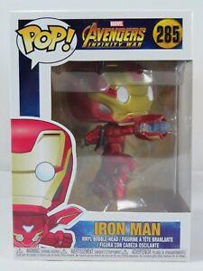 Marvel Funko Pop - Iron Man - Avengers Infinity War - No. 285 - Free Protector