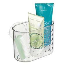 UK Bathroom Storage Basket Holder Shelf Shower Caddy Shampoo Suction Cups