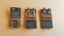 Set of 3 Track trips Lionel and American Flyer