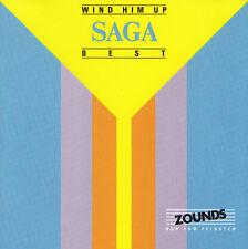 SAGA - CD - WIND HIM UP - BEST  ( Zounds )