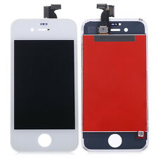 5 Pcs White Front Touch Digitizer LCD Display Screen Assembly For Iphone 4s