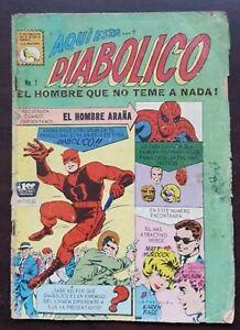 Daredevil #1 La Prensa 1966 Mexico Foreign Edition Marvel Key 🔑
