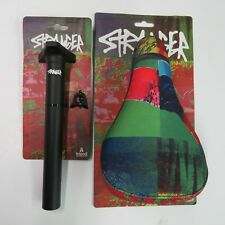 Tripod Seat Stranger Tomorrow Sublimated Ti Dye  & Tripod Seatpost 200 mm