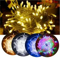 LED Fairy String Lights Wedding Xmas Party Decor Outdoor Indoor Lamp 10M-30M