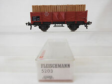 MES-55505Fleischmann 5203 H0 Güterwagen DB 631025 mit Ladung
