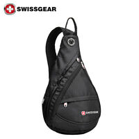 SwissGear Cross body Sling bag Cycling Travel Hiking Backpack Chest Shoulder bag