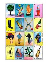 Loteria Mexicana 25 Tablas Digital Para Imprimir (Printable)