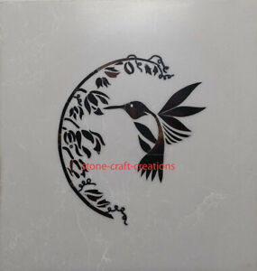 Marble Inlay table top handmade pietra dura Birds Arts side table, accent table