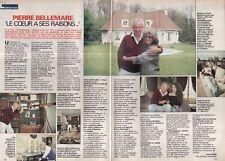 Coupure de presse Clipping 1989 Pierre Bellemare    (2 pages)