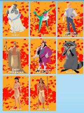 8 CARD SET-WIND CHARACTERS-POCAHONTAS 25th ANNIVERSARY-TOPPS DISNEY COLLECT