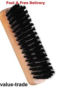 Shoe Brush Polish Cleaning Wooden Handled Boot Shoes Trainers Shine Care Cleaner