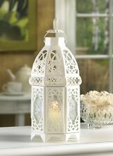 """White Wedding Candle Lantern 12"""" tall (Single) Party Event Supplies 13364"""