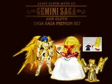 BANDAI SAINT SEIYA SOUL OF GOLD MYTH CLOTH EX GEMINI SAGA PREMIUM SET POPE ARLES