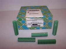 PHOENIX CONTACT  SMKDS 1/12-3.81 PRINTED PCB TERMINAL BLOCK NEW   LOT OF 50